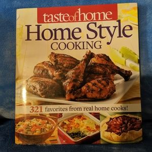 Taste of Home Homestyle Cooking Cookbook